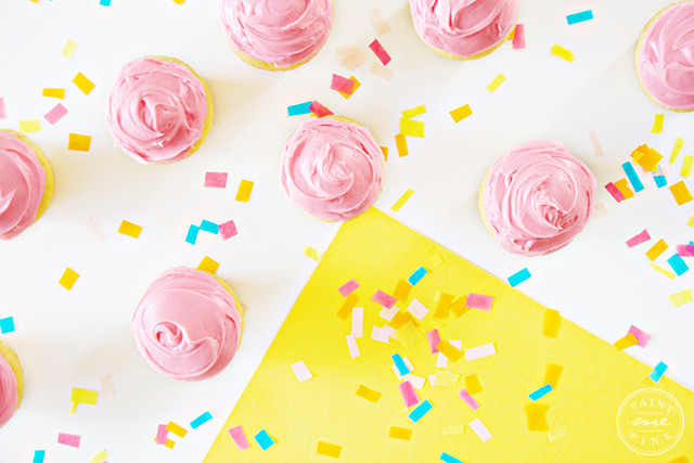 Creamy Raspberry Frosting! Paint Me Pink