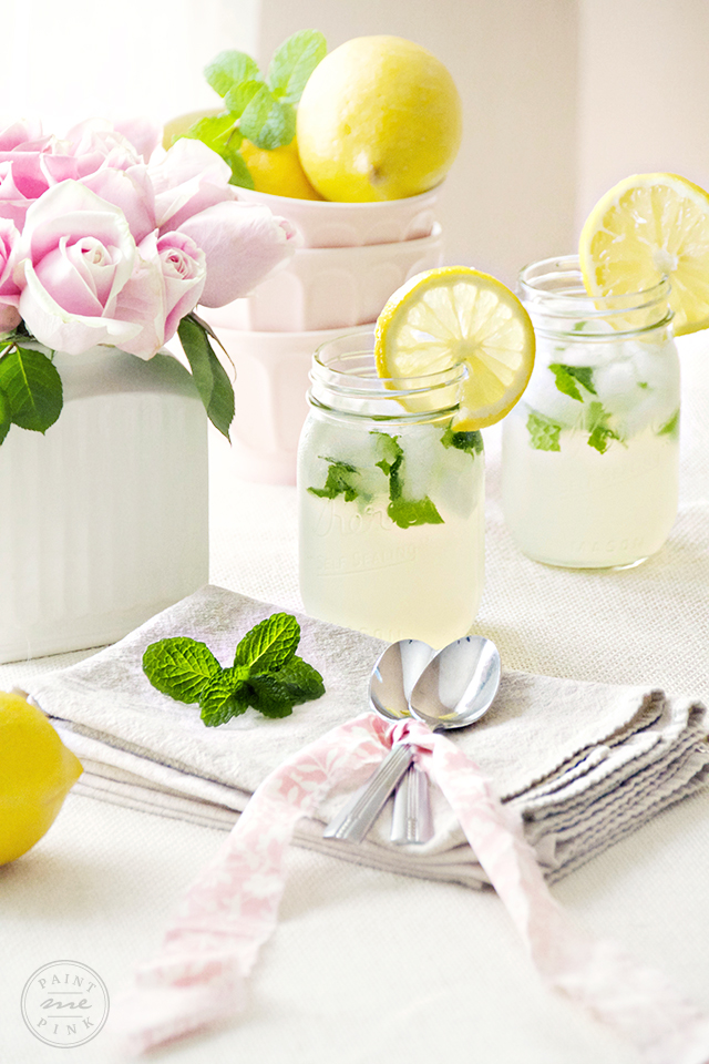 Easy to make Mint Lemonade Recipe