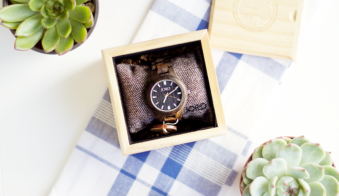 JORD Wood Watch & Giveaway