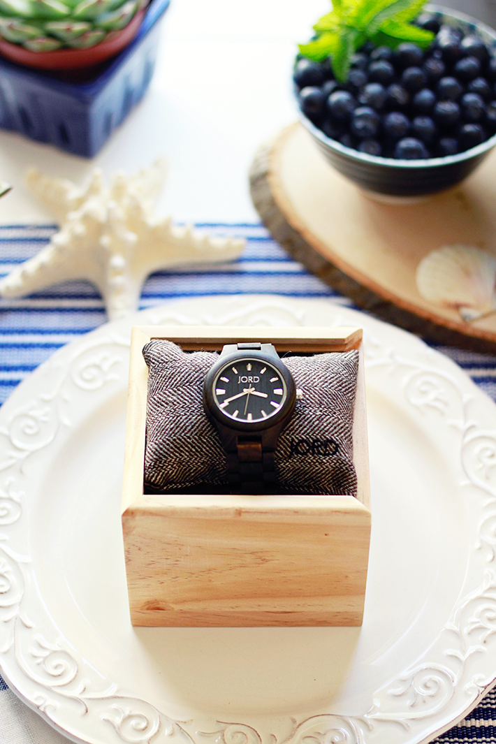 Father's Day Wood Watch